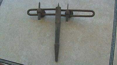 Old Tramel Bar Attachment For A Hand Drill 16/14 Cm