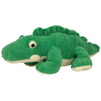 TY Pluffies - CHOMPS the Alligator (11.5 inch) - MWMTs Stuffed Animal Toy