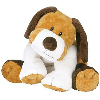 TY Pluffies - WHIFFER the Dog (8.5 inch) - MWMTs Stuffed Soft Toy