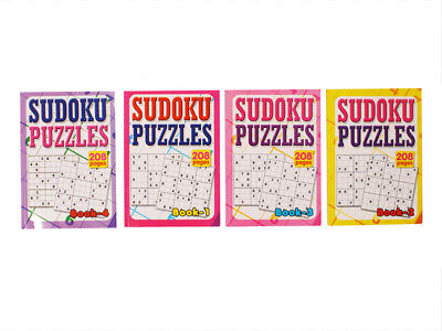 1pce A5 Sudoku Puzzle Book, 208 Pages