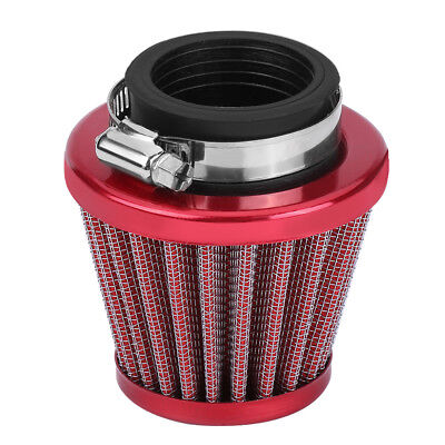 Red 38mm Air Filter Intake Induction Kit For Motorcycle ATV Quad Dirt Bike DH