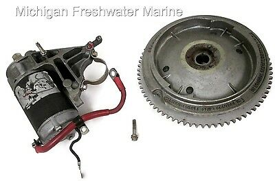 Evinrude Johnson Outboard Flywheel and Starter Motor 582011 582039 392133 320012