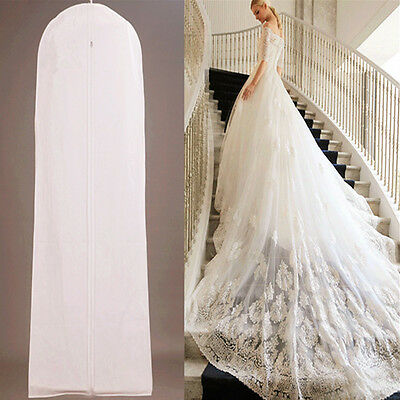160CM Wedding Dress Non-Woven Anti-Dust Storage Bag Bridal Gown Cover Protector