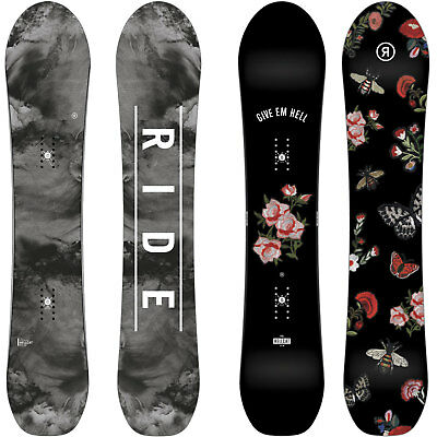 Ride Hellcat Women's Snowboard all Mountain Freestyle Freeride 2018-2019 New