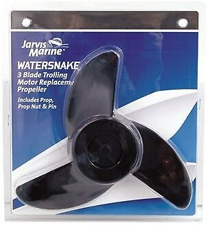 Replacement Propeller 3 prop for Jarvis Marine Watersnake Electric Motors