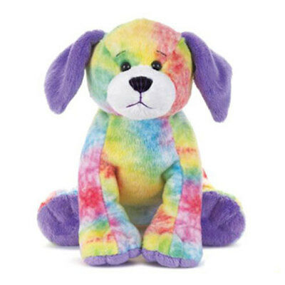Webkinz Virtual Pet Plush - TIE DYED PUPPY (7 inch) - New w/Unused Code