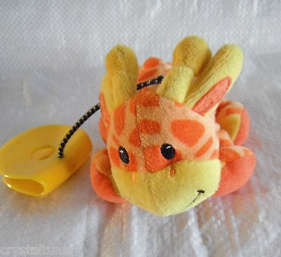 *1511d*  Giraffe - Orange & yellow - Playgro - rattles & plush - toy