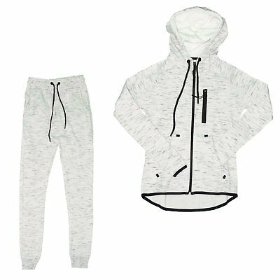 Closeout - Set Full / Complete Jogging - Woman - Set Streaked 01 - White New