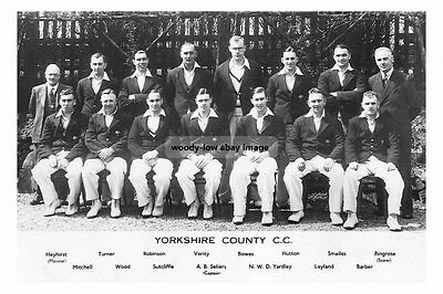 rp16292 - Yorkshire County Cricket Team - photo 6x4