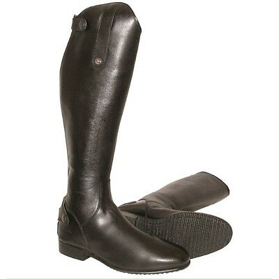 MARK TODD LONG LEATHER COMPETITION RIDING DRESS BOOTS BLACK horse rider wear