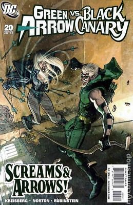 Green Arrow Black Canary (2007) #20 NM