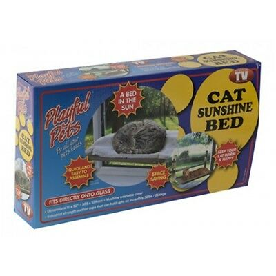 Window Cat Bed With Suction Cups - Pet Mounted Sunshine Care Playful Pets Small