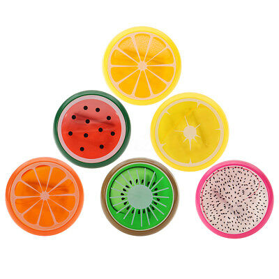 1pc Crystal Fruit Clay Rubber Mud Hand Gum Plasticine Slime Kid Creative Toy Hot