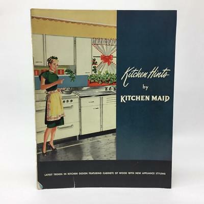 1947 Kitchen Hints by Kitchen Maid 16 pg Advertising Brochure Andrews Indiana