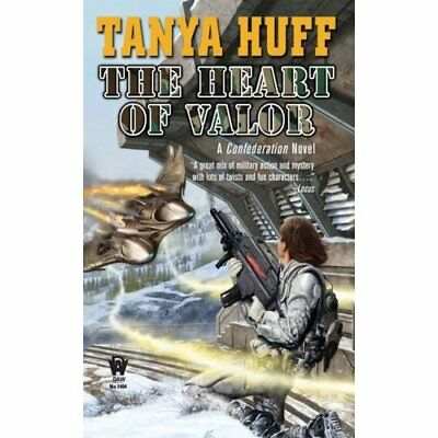 Heart of Valor (Confederation Novels) - Mass Market Paperback NEW Huff, Tanya 20