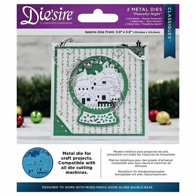 Die'sire Classiques Christmas Collection Metal Craft Dies - Peaceful Night