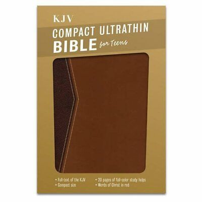 Compact Ultrathin Bible for Teens-KJV - Imitation Leather NEW Broadman & Holm 20