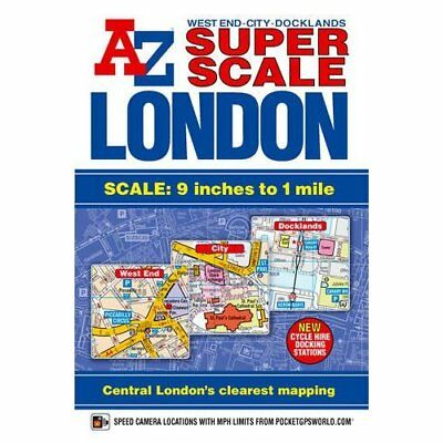 A-Z London Street Atlas Super Scale - Paperback NEW Company, Geogra 2010-03-11