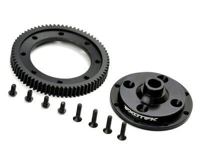 Exotek Racing 1497 D413 Machined 72 Spur Gear And Mounting Plate EXO1497