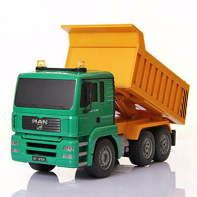 Remote Control Dumper Truck High Simulation RC Truck Tilting Engineering / 35cm