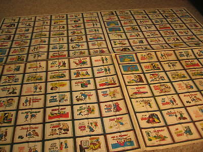 1967 Topps Dopey Books Uncut Proof Sheet