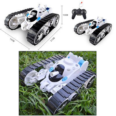 Wireless Remote Control High Speed Tank 360 Degree Flip Stunt RC Vehicle