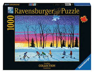 Ravensburger Puzzle*1000 T*canadian Collection*sundown And Stars*rarität*ovp