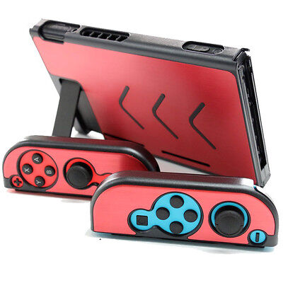Case Hard Shell Cover for Console Nintendo Switch NS NX Joy-Con Controller / RD