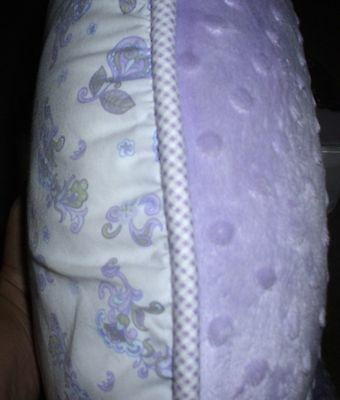 BOPPY Replacement Slip Cover HEIRLOOM LUXE Purple Flowers EXCELLENT!