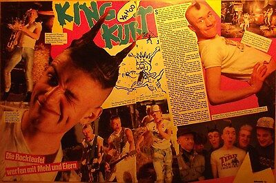2 GERMAN CLIPPING KING KURT ROCK PUNK BOY BAND N  SHIRTLESS BOYS GROUP  SMEGGY
