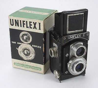 UNIVERSAL UNIFLEX I, BOXED, CRACKED ELEMENT, SHUTTER ISSUES, AS-IS/cks/188626