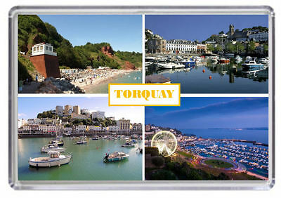 Torquay Devon Fridge Magnet
