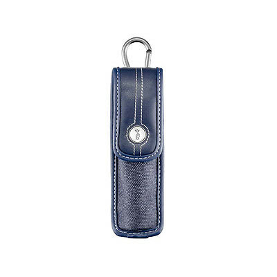 Opinel Sheath, blue jeans optic, carabiner, suitable for knife no.8, slim no.10