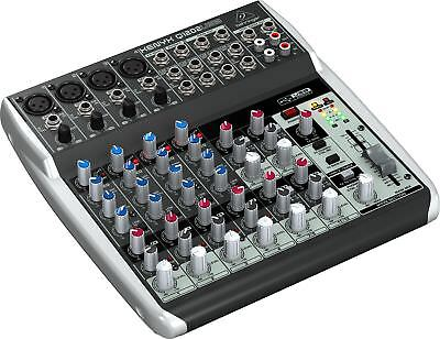 Behringer XENYX Q1202USB 12-Input Mixer with USB Audio Interface