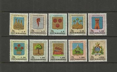 San Marino Italy ~ Small Mid Modern Collection (Mint Mnh)
