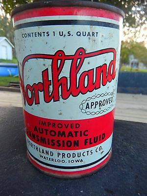 Vtg rare northland petroleum products atf steel gas for Northland motor oils lubricants