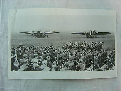 Vintage 1940 Press Photo WWII Italian Army Military Bomber Airplanes 794