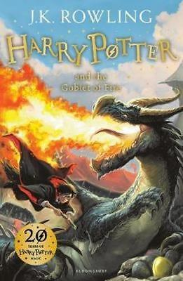 NEW Harry Potter and the Goblet of Fire By J. K. Rowling Paperback Free Shipping