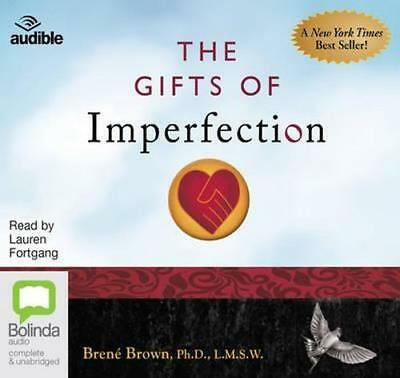 NEW The Gifts of Imperfection By Brene Brown Audio CD Free Shipping