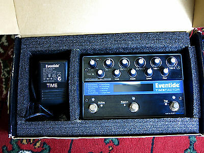 Eventide Timefactor - Stereo Twin Delay Synth and Guitar Effect Pedal