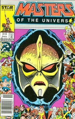 Masters of the Universe (1986 2nd Series Marvel/Star Comics) #4 VF- 7.5
