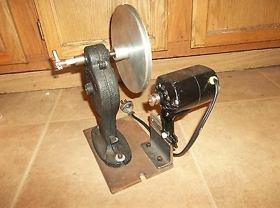 Electric Neumade Motion Picture Film Rewinder 120V Motor