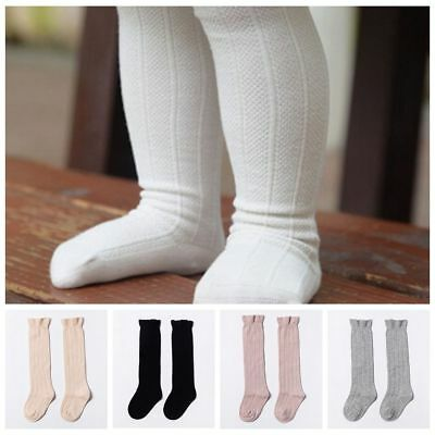 New Tights Leg Warm Stock Unisex Baby Toddler Socks Girls Cotton Knee High Socks