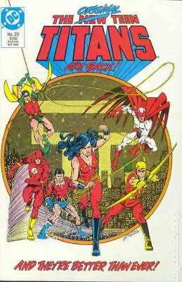 New Teen Titans (1984 2nd Series) New Titans #20 VF