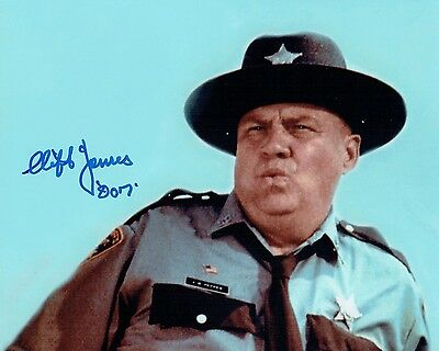 Clifton JAMES SIGNED Autograph Photo AFTAL COA James Bond Sheriff J.W PEPPER