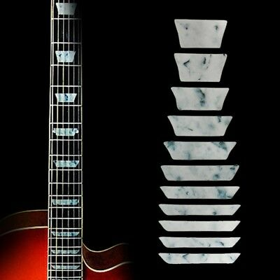 Thin Trapezoid Fretboard Decals Inlay Sticker For Electric Acoustic Guitar Bass