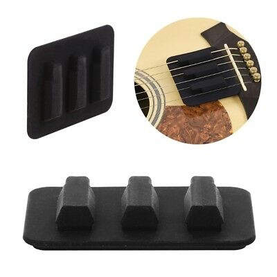 Silicone Practice Mute Silencer Pad For Guitar Acoustic Instruments Accessories
