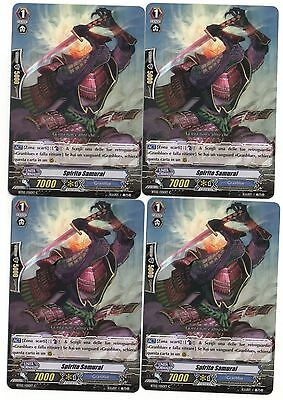 Cardfight VANGUARD 4x Spirito Samurai BT02/050IT C