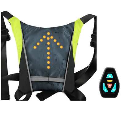 Ultimateaddons Bicycle LED Indicator Adjustsable Vest - with Wireless Controller