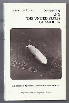 1981 OOP Book ZEPPELIN AND THE USA by Hans G. Knausel Paperback w/ DJ Germany